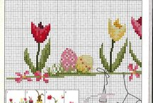 Easter - cross stitch