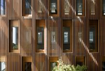 Wood architecture  / Wooden architecture, design innovation and creative inspiration