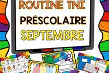 TBI en maternelle / Jeux TBI pour les élèves du préscolaire. Activités interactives pour les classes de maternelle. Fichiers interactifs pour TBI.