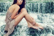 Waterfall photoshoot