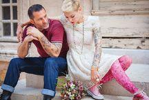 Mariages originaux / Des mariages hauts en couleurs, pleins d'originalité, j'adore ^_^