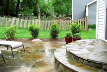 outdoor living spaces / by Norma Best