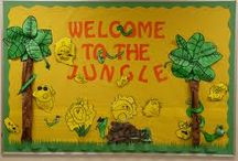 August Bulletin Boards / by Veronica Shroyer