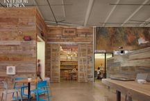 Living :: spaces / Beautiful, sustainable living spaces with lots of natural, vintage, and reclaimed materials