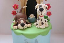 aunti chris cakesDog Cakes