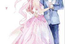 wedding draw