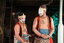 An epic human puppet show in Surakarta