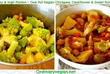 One-Pot Vegan / Healthy, easy and delicious one-pot vegan meals / by Ordinary Vegan