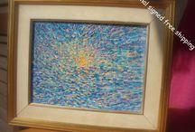 My paintings / Original,Signed oil paintings.