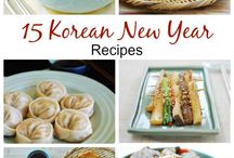 Korean new year food