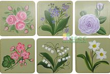 Decorative Painting / Made by PD&C Aritsts for workshops
