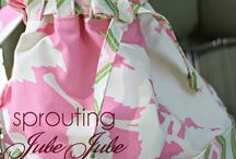 Bag Sewing Patterns ~Handmaiden's Cottage~ / Creative Inspiration Bag PAPER and PDF Sewing Pattern