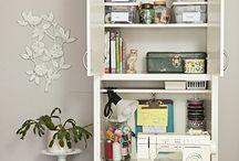 KK Krafts: Sewing/Craft Table/Cabinet