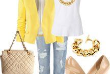 amarillo saco/suéter