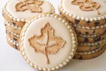 Sugar cookies/ fall