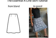 Sewing Skirts / Sewing skirts