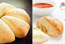 recipes: bread and salty things from the oven / Bread, baking, casseroles, rolls / by glasgefluester !!!