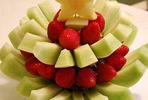 con fruta manualidades