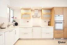 Kitchen Counters / Shaker designed and fabricated DuPont™ Corian® solid surface