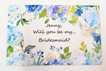 Unique Ways To Ask Bridal Party