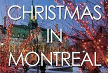 Christmas in Montreal / Montreal is a magical place to enjoy Christmas, and here are some of our favorite Christmas moments in Montreal.