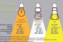 iluminação / Iluminação e eficiência energética através do uso LED, unindo ao bom gosto de light designer.