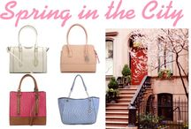 Spring in the City / by Emilie M. Handbags