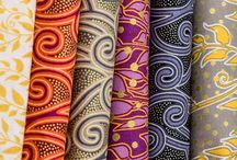 Enchantment / Fabric collection designed by Lonni Rossi.