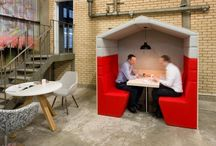 Office Huddle Meeting Booths