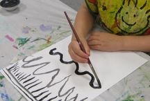 Kinder Art Line / Projects and ideas to teach lines to the littlest artists