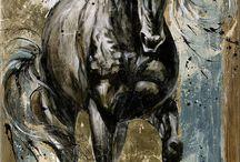 cheval a piendre