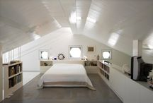 House 2015: Master bedroom in attic / Third floor renovation