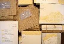 Invitations & Letterhead / by The Farmhouse Weddings LLC