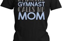gymnast mom shirts