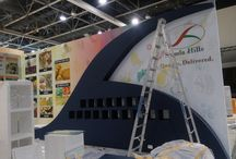 Shimla Hills @Gulfood‬ ‪#‎Manufacturing‬ 2015 / Our booth preps up for Gulfood Manufacturing 2015!  As the countdown begins for MEASA's biggest food and beverage processing show, our booth preps up to host our patrons! Do visit us at our stand, S3-E2, HALL SSH3 (Sheikh Sayed Hall 3), Event Sector: Ingredients,  Dubai World Trade Centre (DWTC).