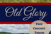 Patriotic Crochet Patterns / Celebrate the 4th of July and the 24th of July (in Utah) with fun Patriotic crochet patterns