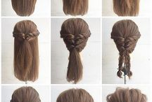 hair tutorial step by step