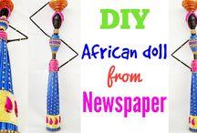 News paper craft