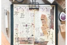 Travelers Notebook and Journaling / Everything Travelers Note