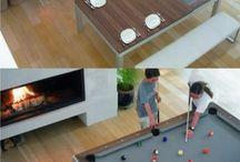 pool table a další hry