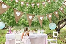 Fairy themed children party
