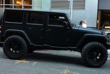 Black unlimited jeep