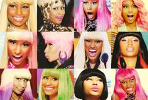 Nicki Minaj e seus alter egos / minha nicki