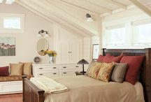Attic Master Suite Ideas / by Kimberly Keith