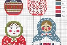 Cross stitch....I plan to do but never get round to :) / Bits of allsorts of cross stitch designs