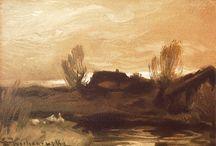 Polish masters lanscape, still life, architecture / Polish painting masters landscape, still life, architecture