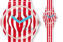 SWATCH Valentine's Day Watch / View model: http://www.e-oro.gr/swatch-rologia/swatch-sweet-valentine-red-and-white-rubber-strap-suoz168.html