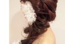 Renae's Wedding hair