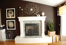 Fireplace Re-do ideas / by Vicki Fort