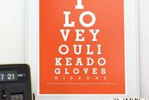 Typography / Prints / Posters